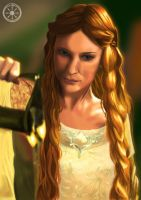 Lady of Lorien by DameOdessa