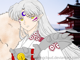 Sesshomaru - COLORED by Springcloud