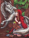 Little Red Riding Hood by thrivis