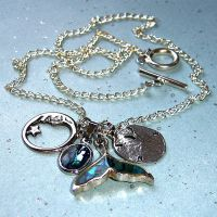 Charm Sea Silvered Moon by PrettyShinyThings