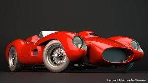 1957 Ferrari 250 Testa Rossa by nancorocks
