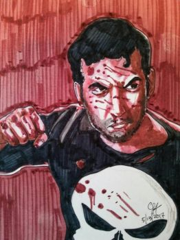 THE PUNISHER by chrislt83