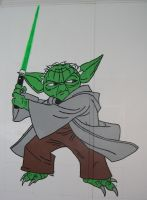 Yoda Finished by AreteEirene