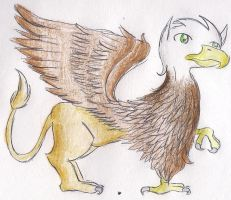 Some sort of Griffin by CaramelCreampuff
