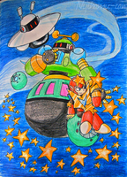 Robots...IN SPACE -MMT- by Nijihamu-can