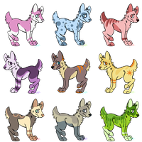 Dog Adots Batch !! [OPEN] by sharqbait