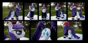 Sardonic Beatnik Pony - More Views by fireflytwinkletoes