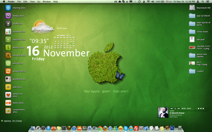 Green Wallpaper ( Mac Osx ) by el-abda3-com