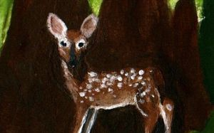 Cute little fawn by Mad-Mad-Muffin