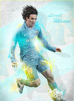 Large Art Lionel Messi by ROH2X