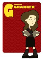 G is for Hermione Granger by jksketch
