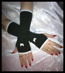Madame Moonlight's Arm Warmers by ZenAndCoffee