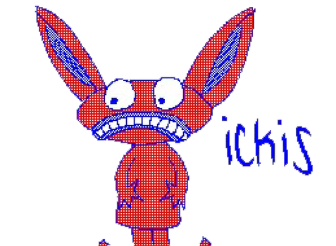 Ickis from Aah Real Monsters by urging