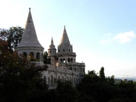 Fisherman's Bastion by mynameissparks