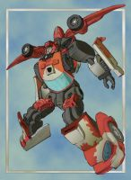 Leap of the Cliffjumper by DrewEiden