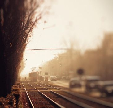 The Train to Better Days by Peterix