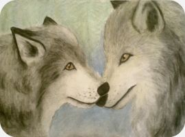Wolf Love by Sarah-Maxine