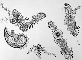 Henna Designs 2 by Silent-forever