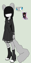 Homura the Blank by thetwotailfox