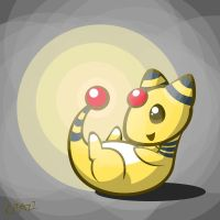 AT: Ampharos by CRAZ1