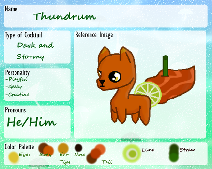 :CF Registration: - Thundrum by Brynnerz