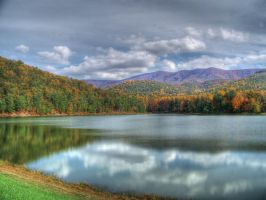 Autumn Lake by jim88bro
