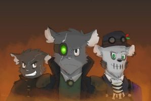 The Villains by SteamMouse