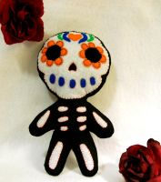Sugar Skull Plush by WeAreSevenStudios
