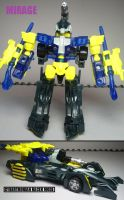 Beast Machines figures: Mirage by Lugnut1995