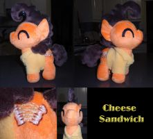 MLP: Cheese Sandwich Colt Plush by ChibiTigre