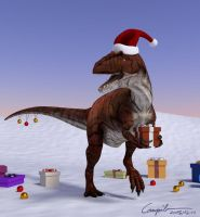 XMas Holiday ID - Allosaurus Edition by c-compiler