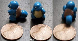 Squirtle charm by ElectricDinoSaur
