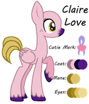 MLP:Claire Love Profile by kiananuva12