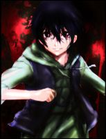 Kosuke Kira - Btooom! by DecaySlacker