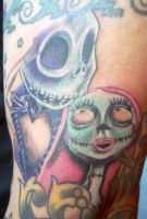 Nightmare Before x-mas Tattoo by TheMessiah666