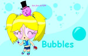 Pokemon Bubbles and Octi by Naminedraws7