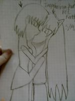 Yukisama24 in Anime Form And Inuyasha Kissing! by Kogalover4ever