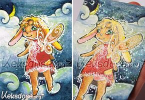 ACEO 027 - I wish I could fly by yumkeks