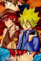 Vongola And Shimon by janashlley09