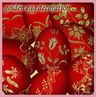 Golden Egg Decoration by roula33