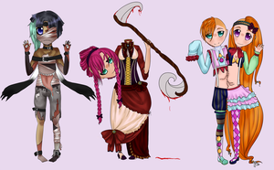 [AUCTION OVER] Adoptable Set 4 [CAN BE BOUGHT] by AdoptErrors