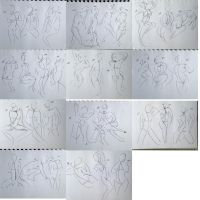 368 402 (1000 gesture drawing challenge) by anime-master-96