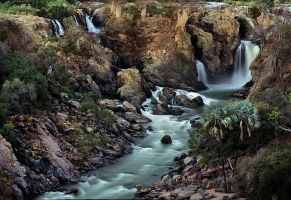 Epupa Waterfall by Zefisheye