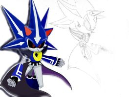 Neo Metal Sonic by Tuffy-TC