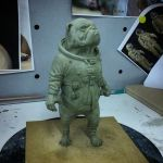 Space Program Maquette 2 by Thomasotom