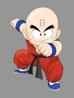 Kid Krillin new by dbzataricommunity