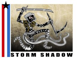 G. I. Joe Fan Art: Storm Shadow by ehudsbloodysword