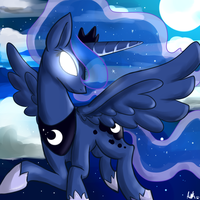 Princess of the Night by Pon3Splash