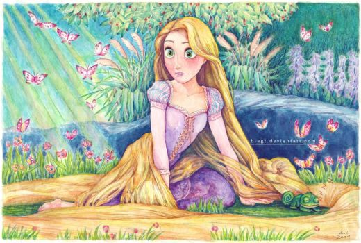 Good Morning Rapunzel by B-AGT