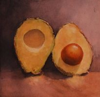split avocado by Oblomov-Ilya1956